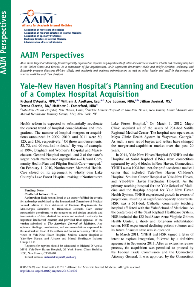the planning and merger of three major hospitals Background: hospitals as key actors in health systems face growing pres­sures especially cost cutting and search for costeffective ways to resources management downsizing is one of these ways this study was conducted to identify advantages and disadvantages of different methods of hospital' downsizing.