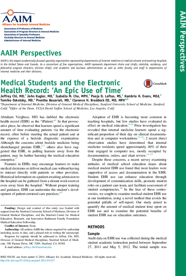 the role and impact of electronic health record on the health sector Information for research purposes in the health sector i am fully cognisant of this in advocating this change but strongly believe that the end result in terms of the necessary.